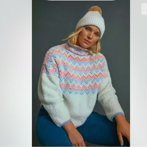 ANTHROPOLOGIE  NWT Pilcro Selene Sweater Size 1X